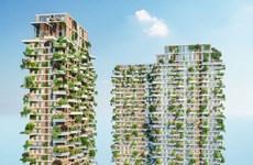 La tour verte d'Ecopark louée par un magazine américain