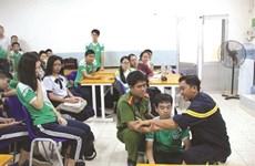 Les enfants sont préparés à réagir aux catastrophes naturelles à l'école