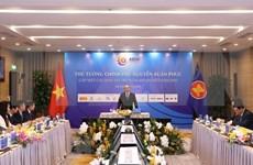 Le PM Nguyen Xuan Phuc rencontre les sponsors du 37e Sommet de l'ASEAN