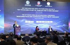 Pour la paix, la stabilité et la prospérité en Mer Orientale