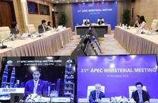 Le Vietnam à la 31e conférence des ministres des Affaires étrangères et de l'Economie de l'APEC
