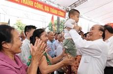 Le PM participe à la fête de grande solidarité nationale à Hai Duong