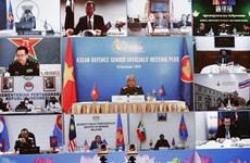 Défense : l'ASEAN et ses partenaires discutent des préparatifs de l'ADMM+