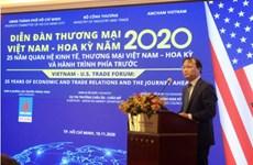 Forum du commerce Vietnam-Etats-Unis à Hô Chi Minh-Ville