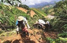 """Des """"porteurs"""" à l'œuvre dans les régions sinistrées du Centre"""