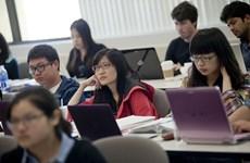 Le Vietnam est le 6e pourvoyeur d'étudiants sur les campus américains