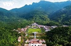 Pèlerinage à Yên Tu en automne