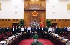 Le PM préside la première réunion du Comité directeur national sur la cybersécurité