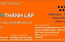 Conception du logo des 25 ans de présence de la délégation Wallonie-Bruxelles au Vietnam