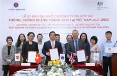 Le Royaume-Uni aide le Vietnam à lutter contre la résistance aux antimicrobiens