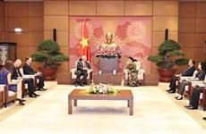 Les relations parlementaires Vietnam-Russie connaîssent des progrès notables