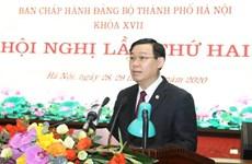 Réunion du Comité municipal du Parti de Hanoï