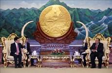 Le vice-PM Pham Binh Minh rencontre les dirigeants du Laos