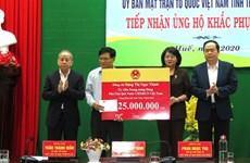 Intempéries : Thua Thien-Hue reçoit des assistances