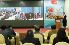 Des entreprises vietnamiennes et chinoises discutent de l'offre et de la demande de technologies