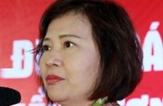 Une ex-vice-ministre de l'Industrie et du Commerce expulsée du Parti