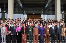 La présidente de l'AN rencontre des délégués issus d'ethnies minoritaires