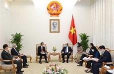 Le Premier ministre reçoit le PDG du groupe thaïlandais SCG
