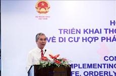 Le Vietnam s'engage à assurer une migration sûre et ordonnée