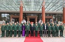 Le leader Nguyên Phu Trong souligne les grandes tâches de l'armée