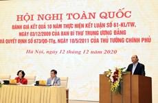 Le PM exhorte à faire émerger la nouvelle génération de paysans