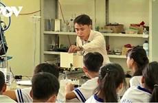 Lê Thanh Liêm, lauréat du prix Maha Chakri de 2020