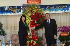Noël : la vice-présidente de la République présente ses vœux aux protestants