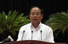 Ho Chi Minh-Ville : suspension du travail de Tat Thanh Cang