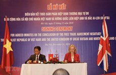 UKVFTA significatif pour le Vietnam et le Royaume-Uni