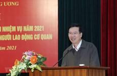 La Commission centrale de Propagande et d'Éducation supervisera l'installation du centre de presse