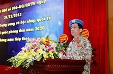 Le Vietnam envoie 179 soldats dans des opérations de maintien de paix en période 2012-2020