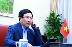 Vietnam-Etats-Unis : conversation téléphonique entre Pham Binh Minh et Mike Pompeo