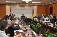 La première réunion du comité mixte Vietnam-Allemagne sur la coopération économique