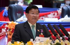 Félicitations au secrétaire général du Comité central du Parti populaire révolutionnaire lao