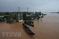 Aide indienne aux populations touchées par les inondations au Centre