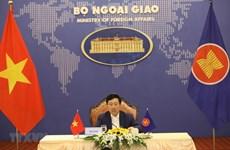 Le Vietnam à la réunion restreinte des ministres des AE de l'ASEAN