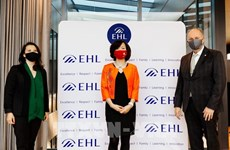 Des établissements vietnamiens et suisses partenaires dans la formation hôtelière