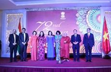 Renforcement de la coopération entre Ho Chi Minh-Ville et l'Inde
