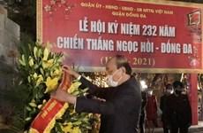 Le PM Nguyên Xuân Phuc rend hommage au roi Quang Trung