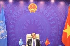 Le PM Nguyen Xuan Phuc au débat ouvert sur le climat du Conseil de sécurité de l'ONU