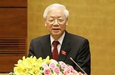 Félicitations de dirigeants de pays au secrétaire général et président Nguyen Phu Trong