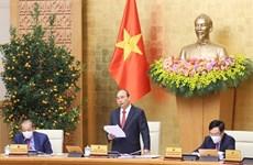 Le Premier ministre demande la poursuite des tâches importantes et urgentes