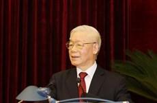 Clôture du 2e Plénum du Comité central (13e mandat)