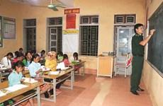 Des cours d'alphabétisation spéciaux dans la région montagneuse de Muong Lan