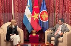 L'agence de presse argentine Télam souhaite renforcer la coopération avec son homologue VNA