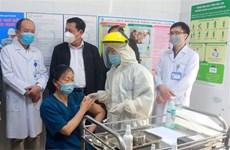 Covid-19 : Huit localités ont terminé la première phase de vaccination