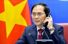 Vietnam-Chine : conversation téléphonique entre Bui Thanh Son et Wang Yi