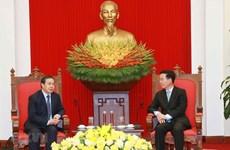 Le Vietnam réaffirme son soutien constant au Laos
