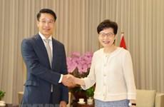 Le Vietnam et Hong Kong favorisent la coopération
