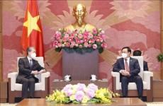 Le président de l'Assemblée nationale reçoit l'ambassadeur de Chine